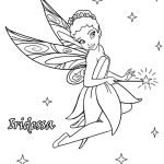 Fairy Coloring Pages Disney Iridessa