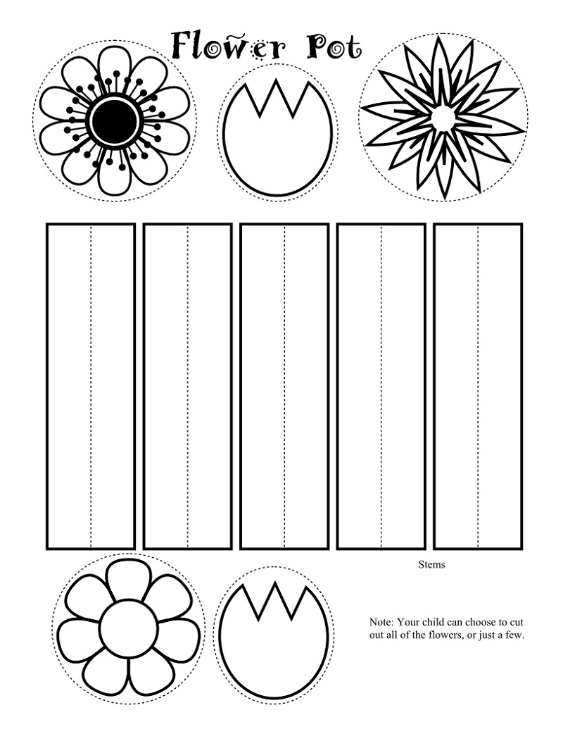 Free Kids Activity Pages Crafts