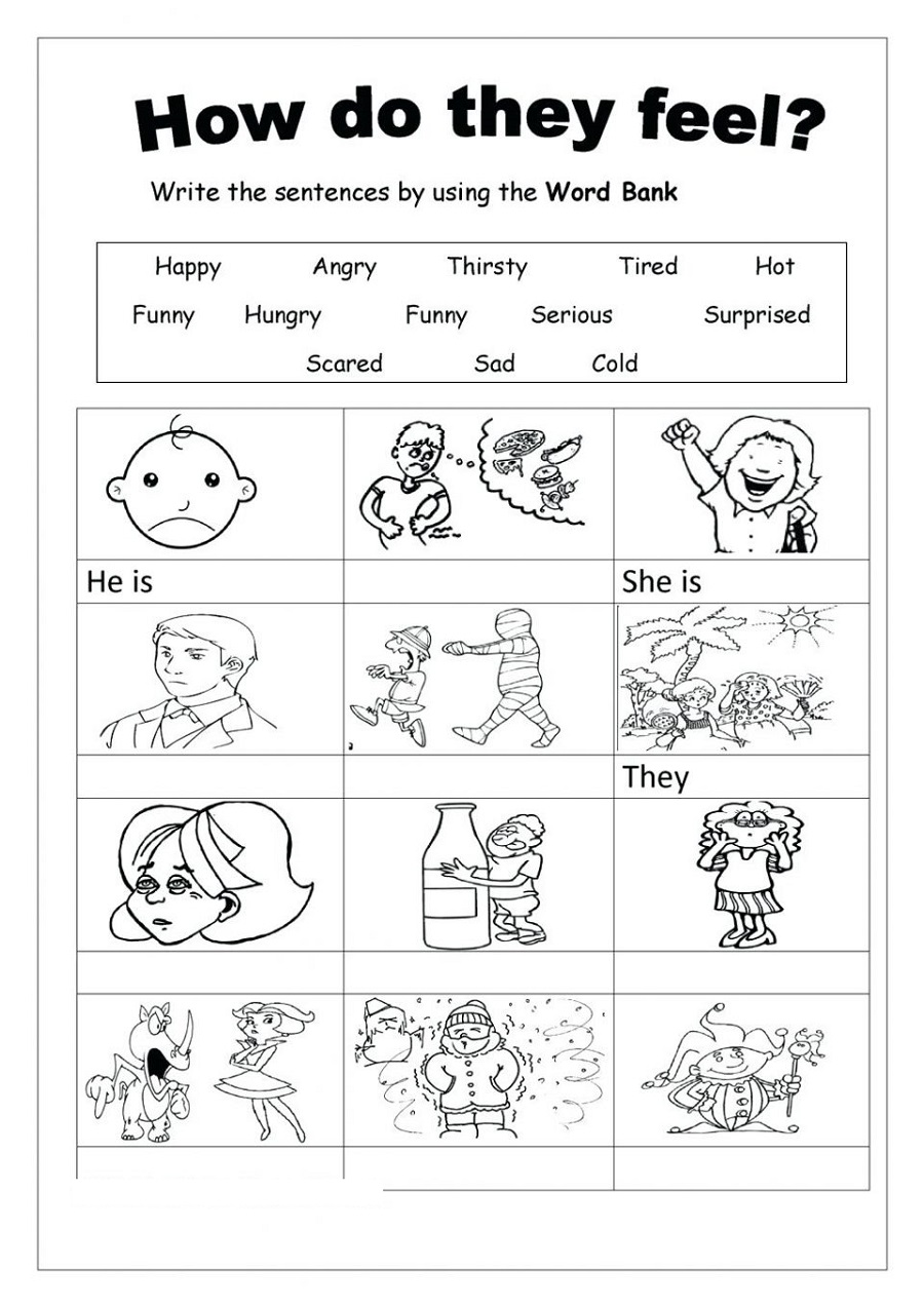 Free Printable Worksheets Social Skill