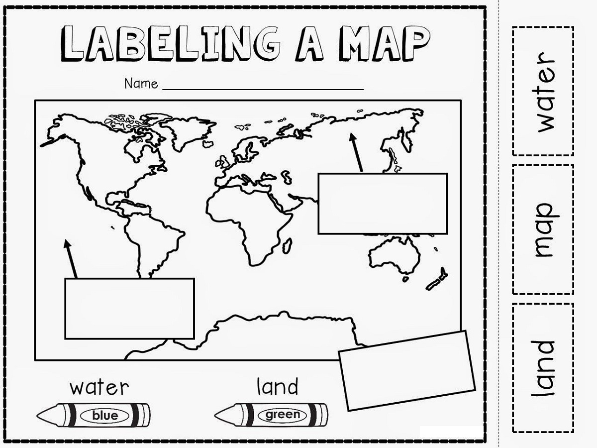 Geography Worksheets Kindergarten