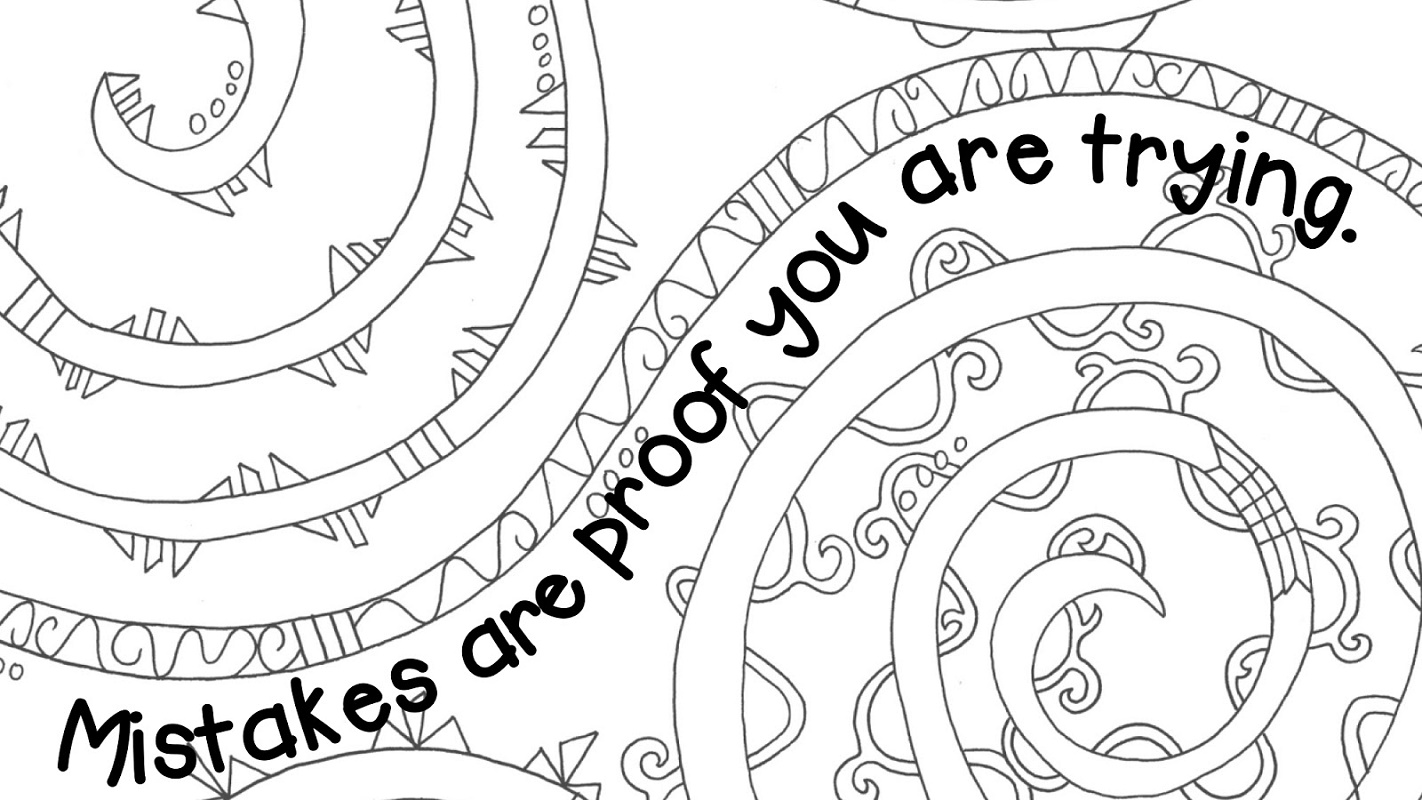 Growth Mindset Coloring Pages To Print