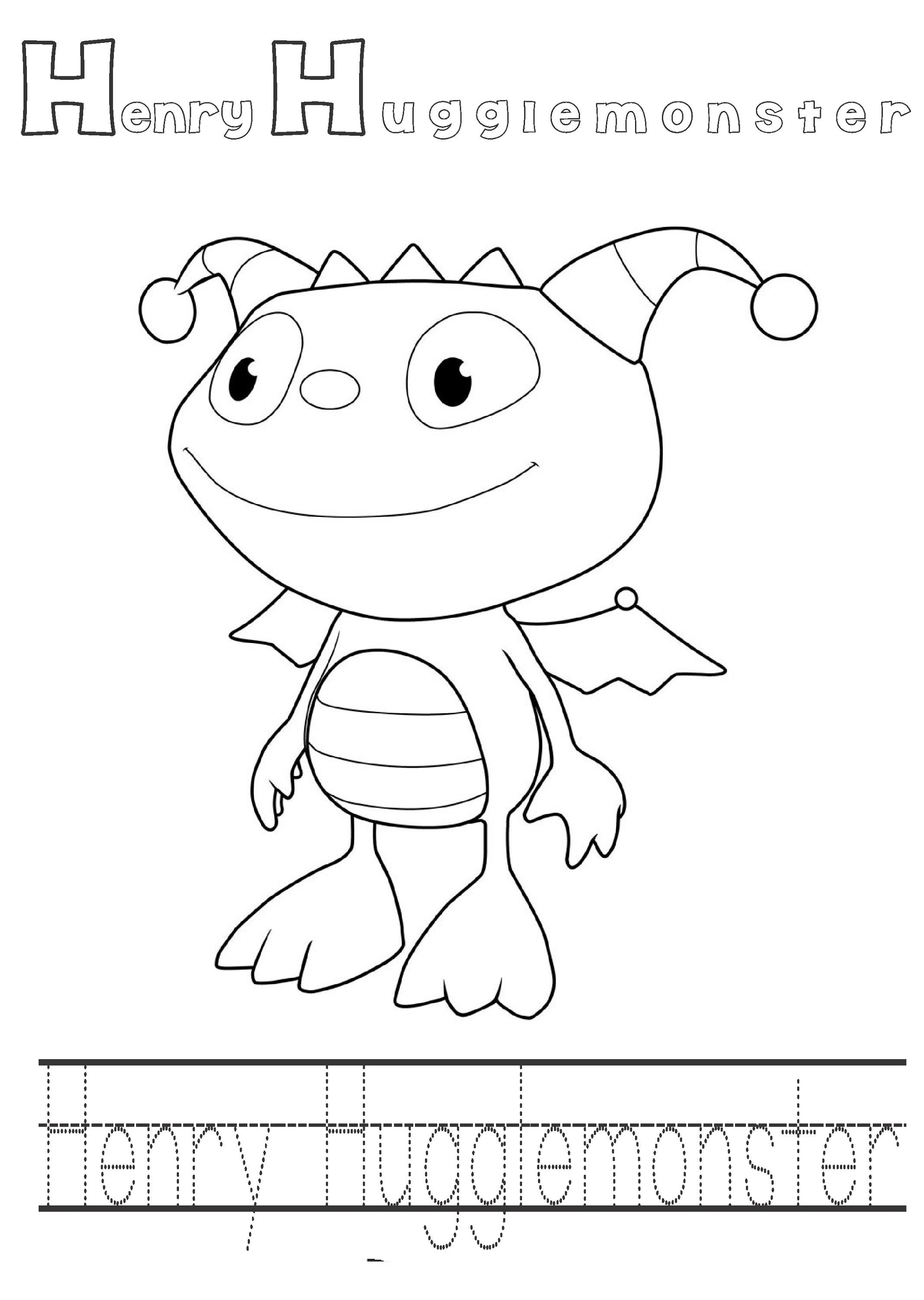 Henry Danger Coloring Pages Cartoon