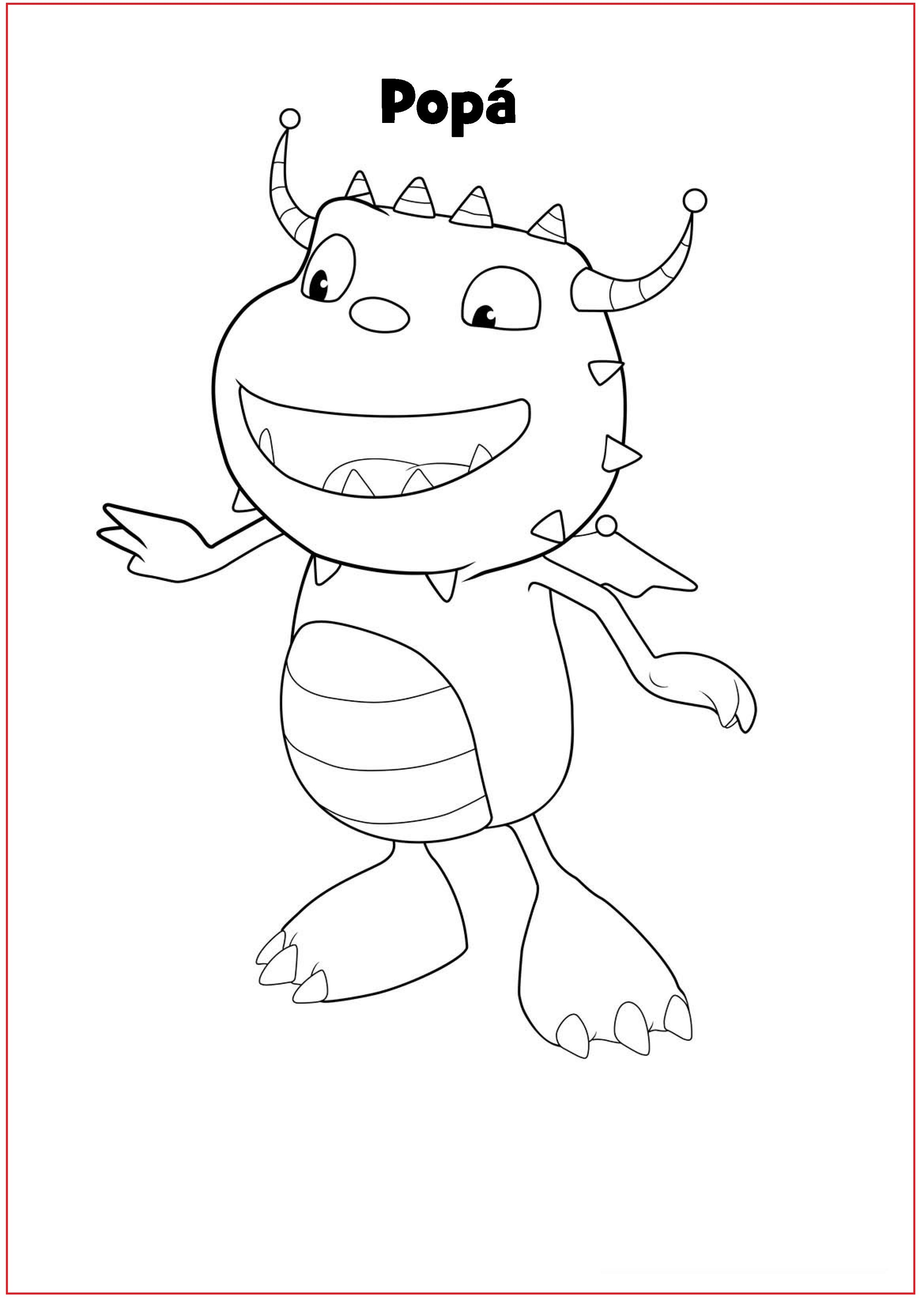 Henry Danger Coloring Pages Popa