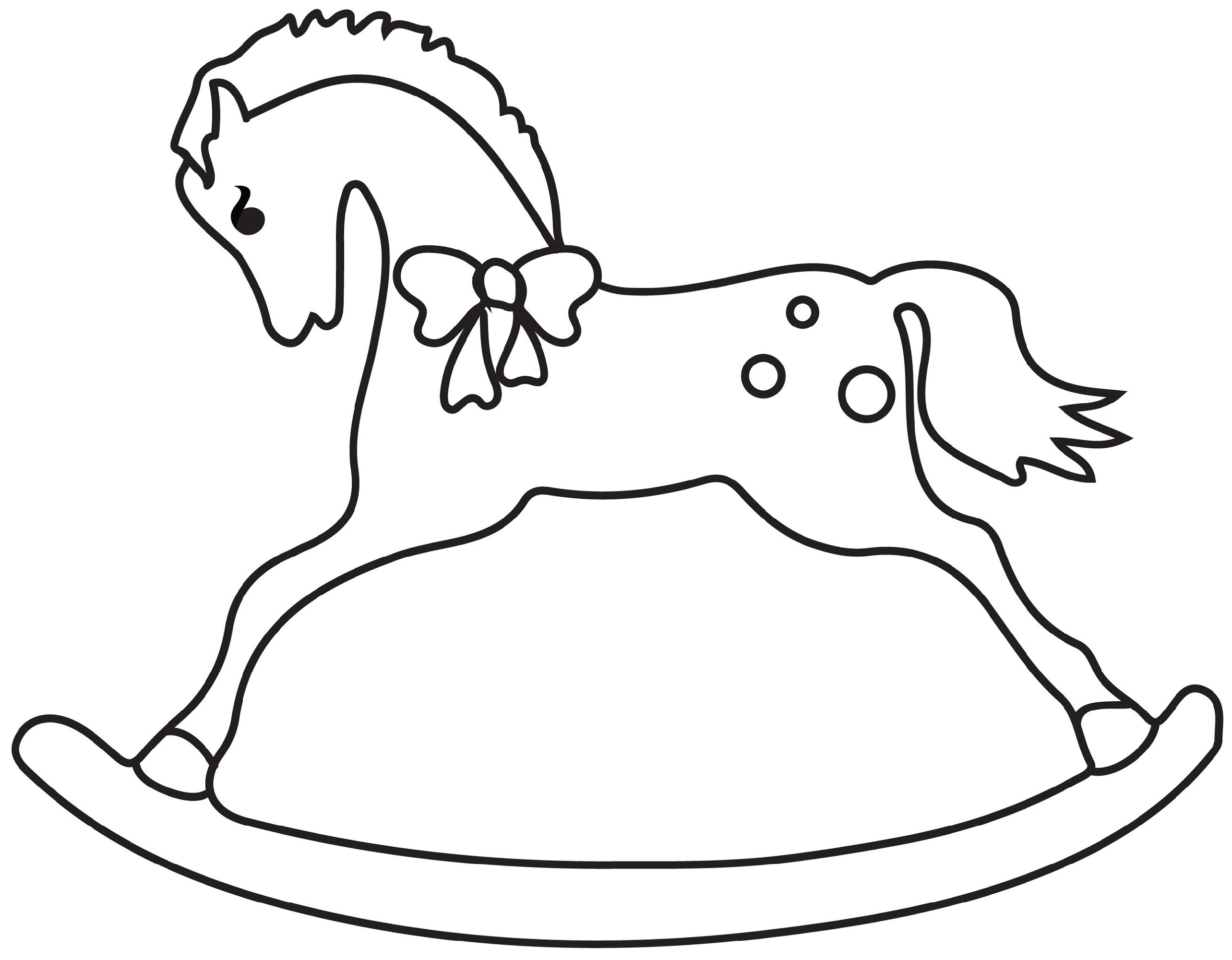 Horse Coloring Worksheets