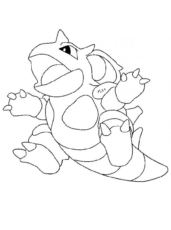 Blastoise Coloring Page For Kids