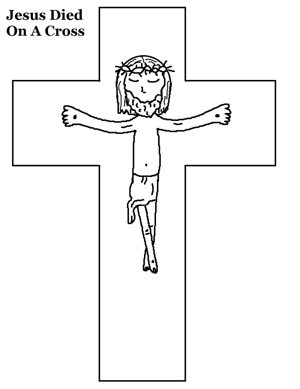 Cross Coloring Pages Free
