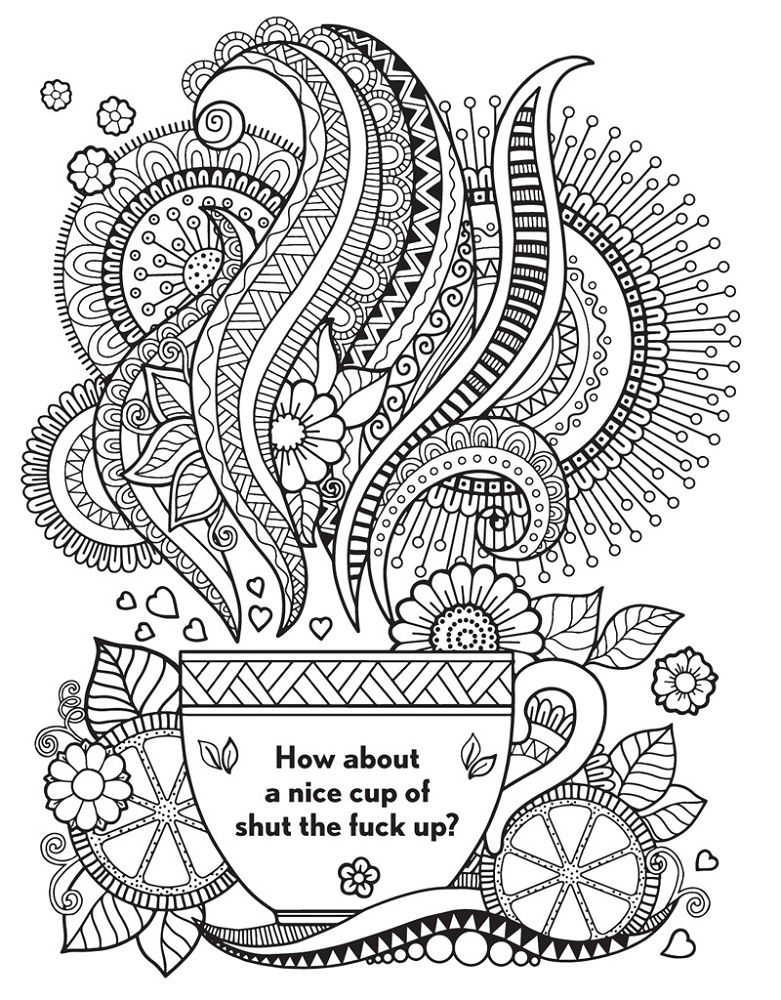 Curse Word Coloring Book Free