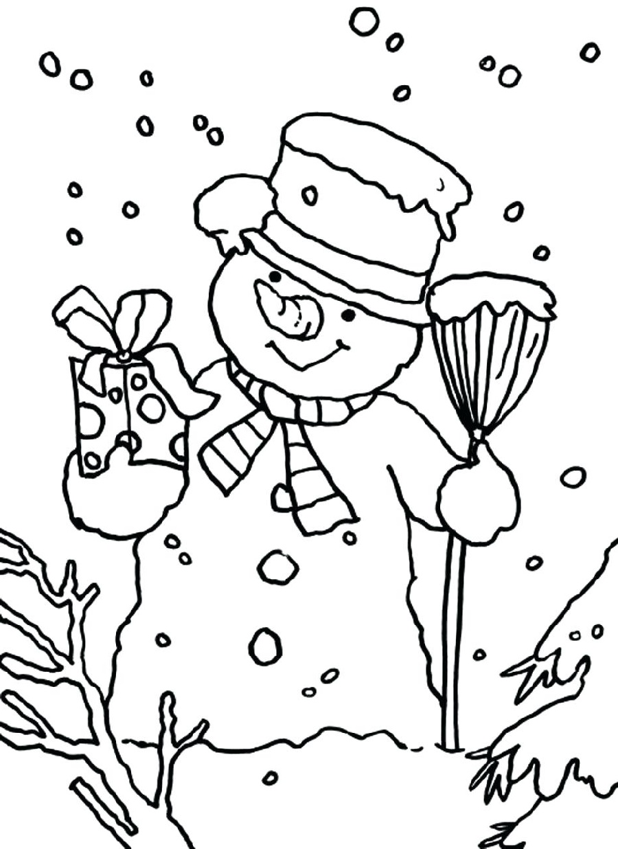 Dltk Coloring Pages Christmas