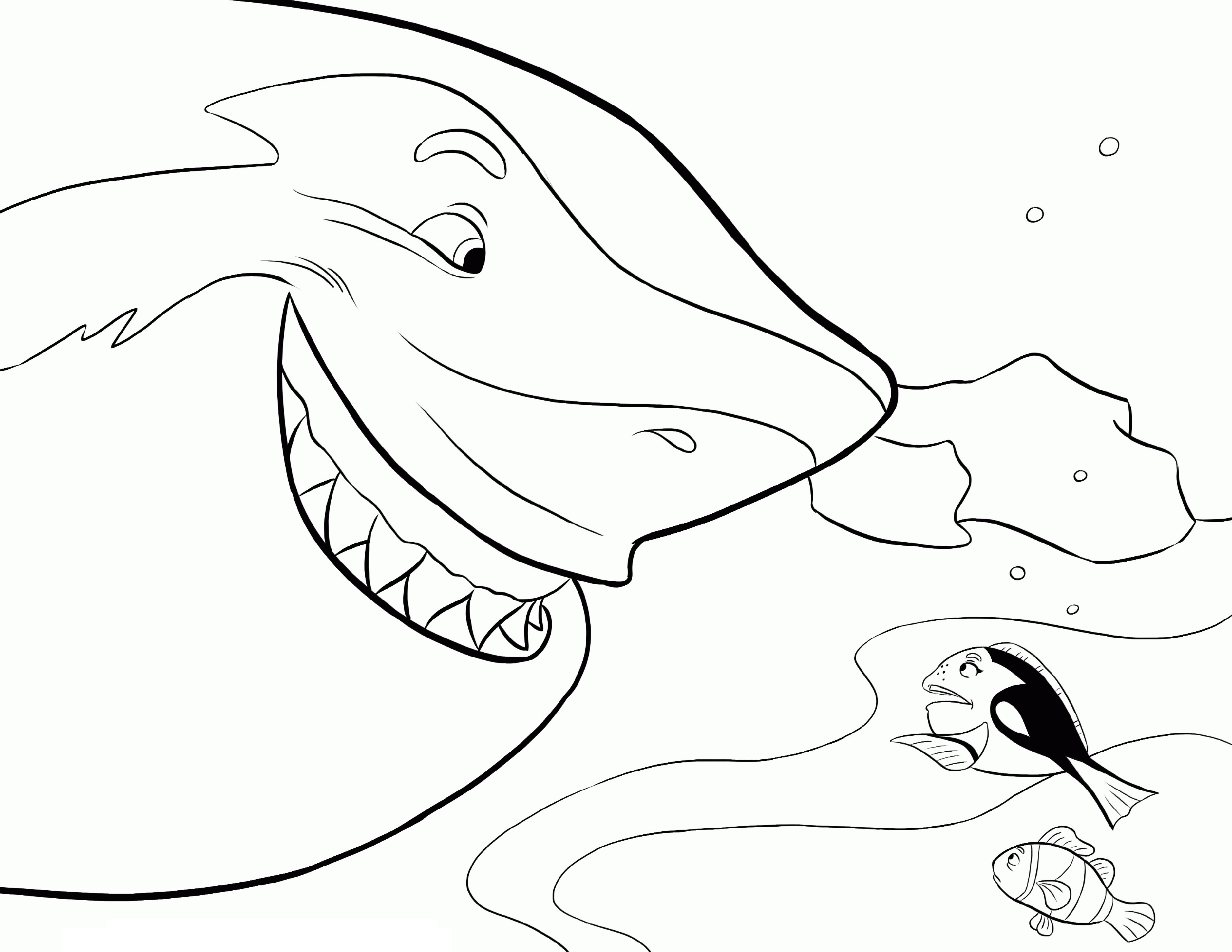 Dory Coloring Pages Printable