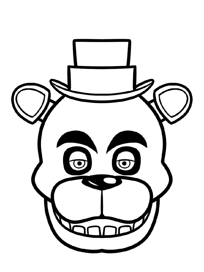 Five Nights At Freddy_s Coloring Pages To Print