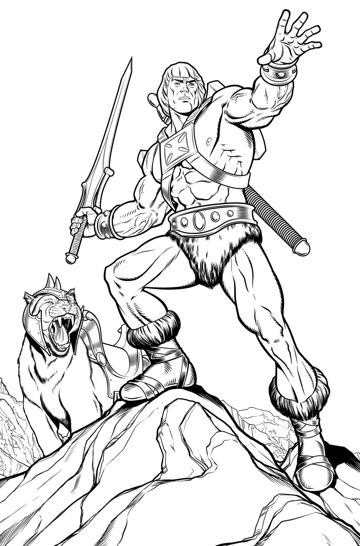 He Man Coloring Pages For Adults
