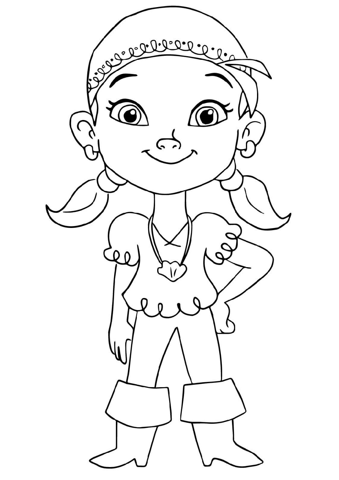 Jake Paul Coloring Pages Izzy