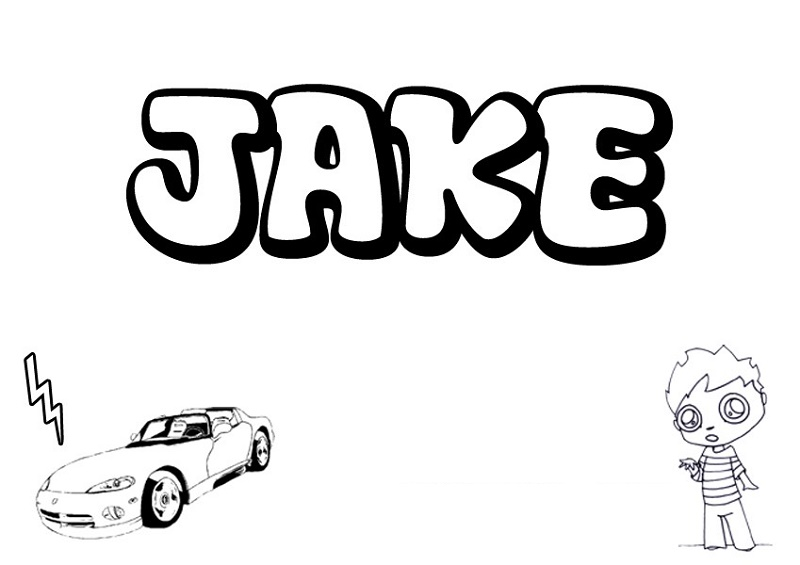 Jake Paul Coloring Pages Jake