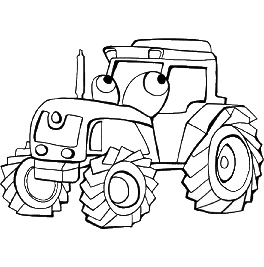 John Deere Coloring Pages For Kids