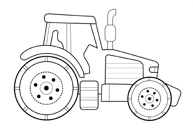 John Deere Coloring Pages Free