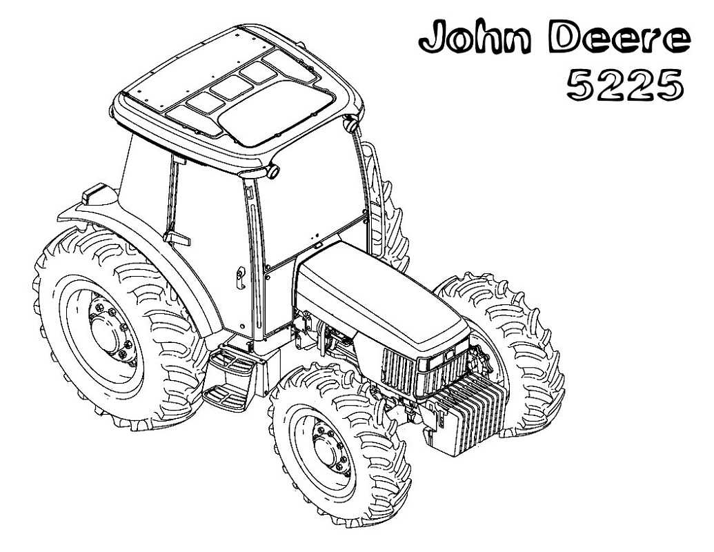 John Deere Coloring Pages Printable