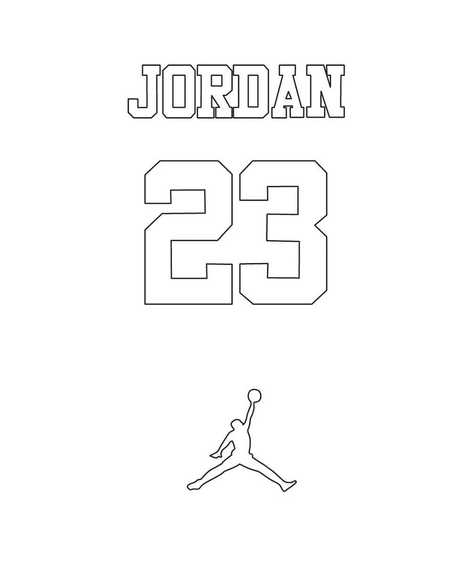 Jordan Coloring Book Michael