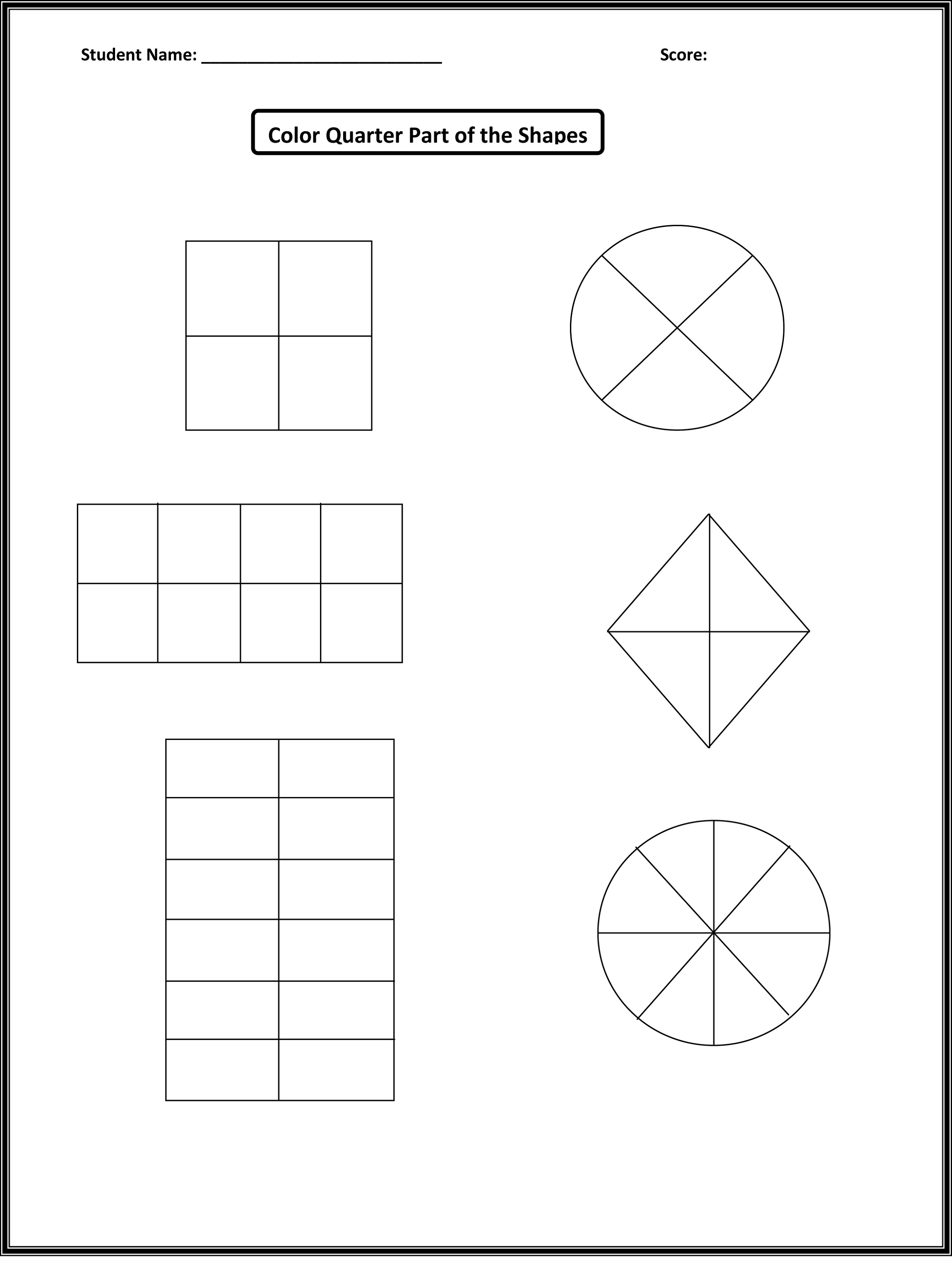Mathworksheets4kids Fraction