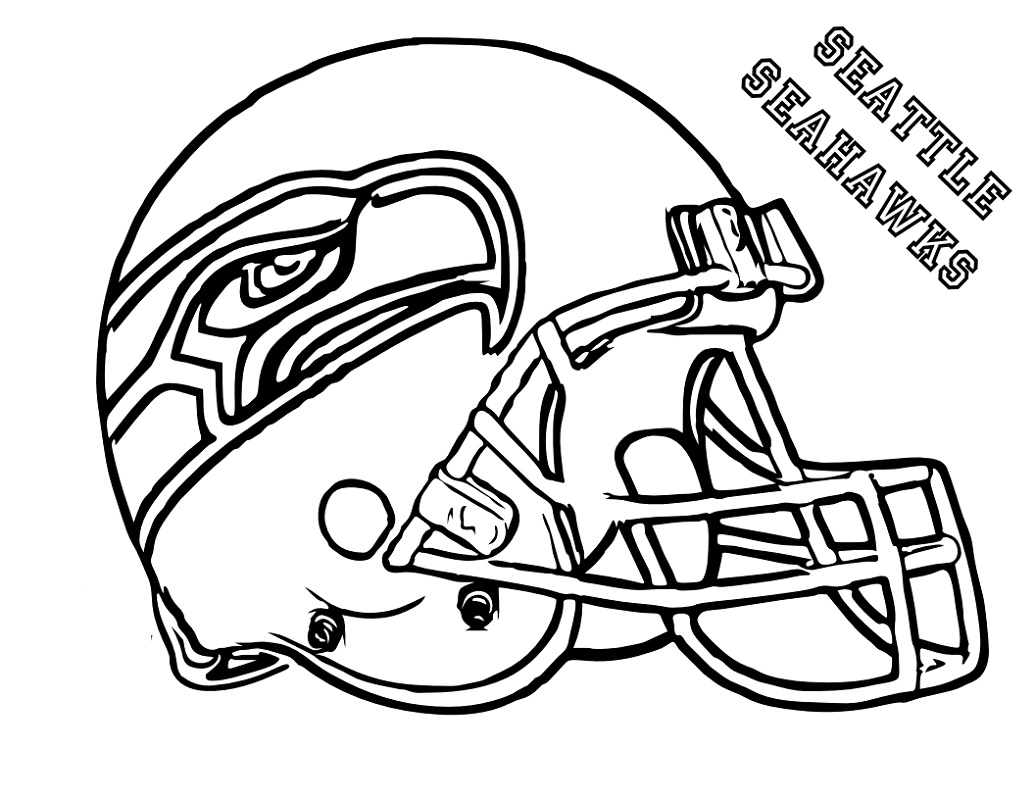 Nfl Coloring Pages Seattle Seahawk