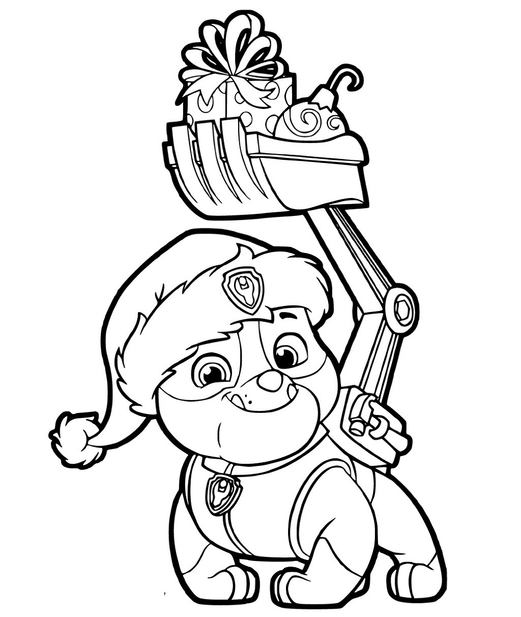 Paw Patrol Coloring To Print