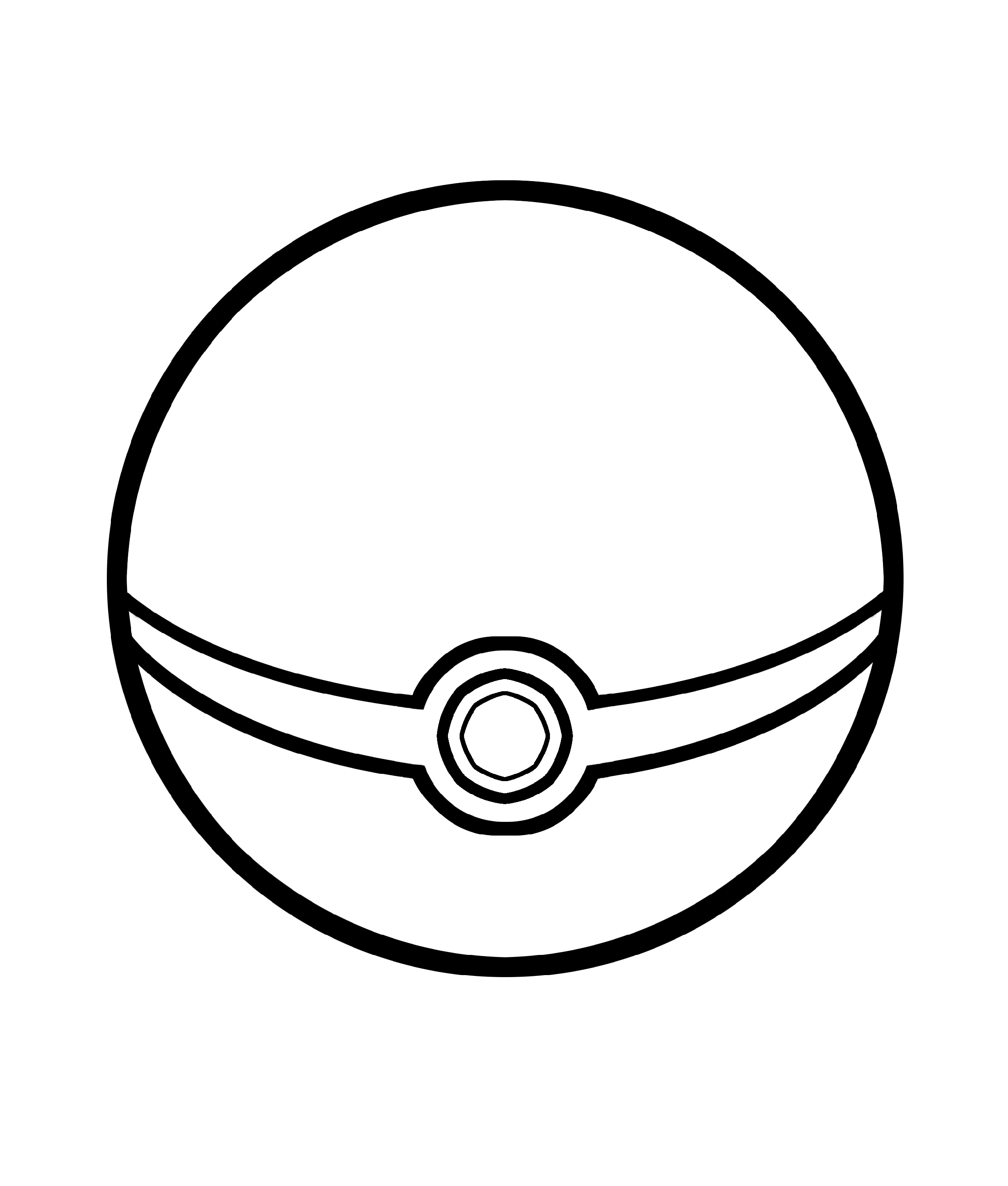 Pokeball Coloring Pages Pokemon Ball