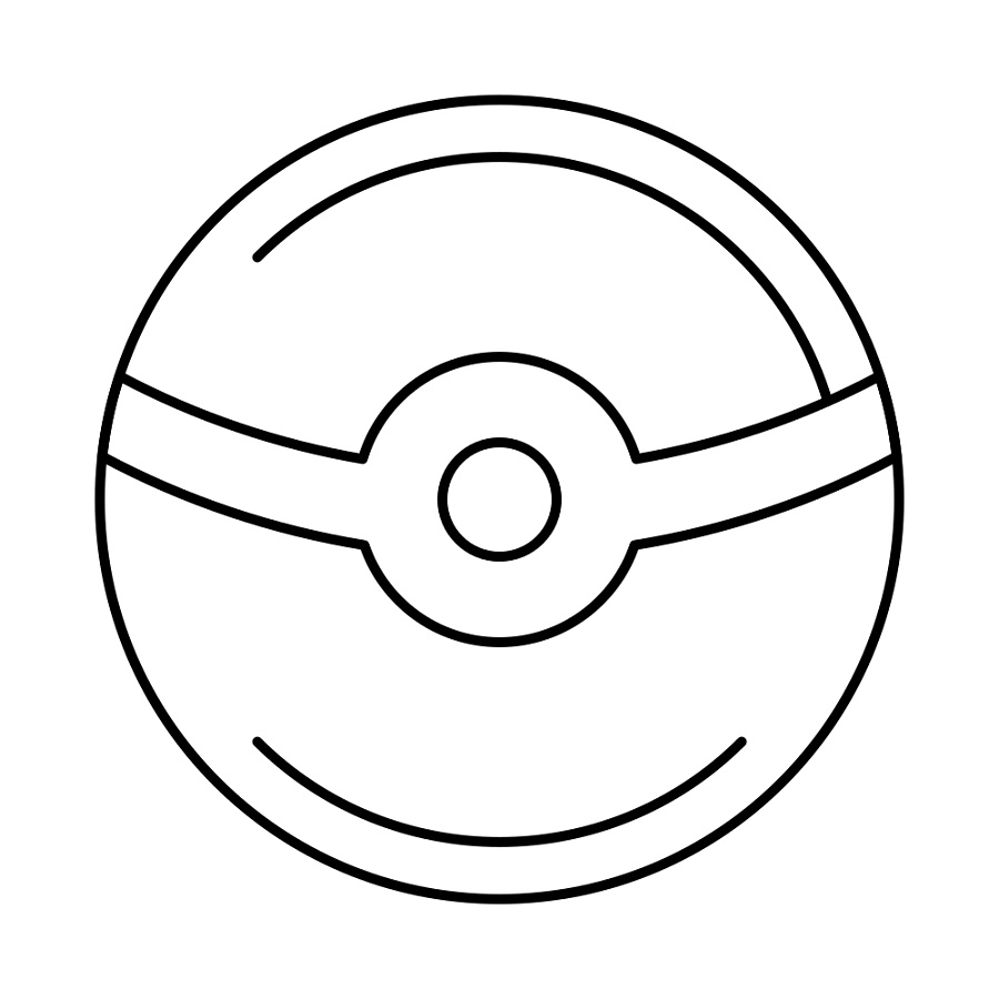 Pokeball Coloring Pages Printable