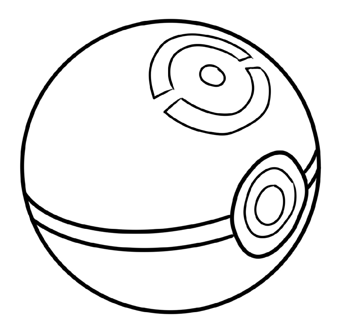Pokeball Coloring Pages To Print