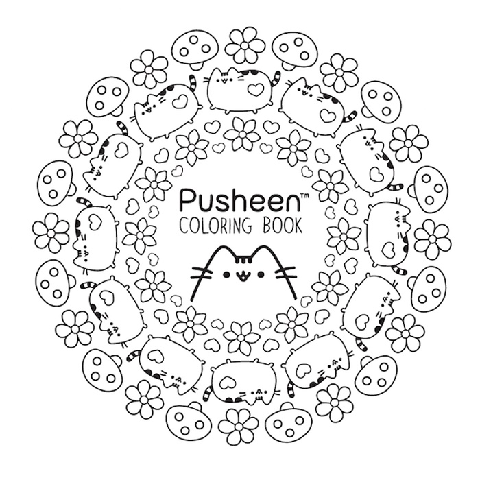 Pusheen Coloring Book Free