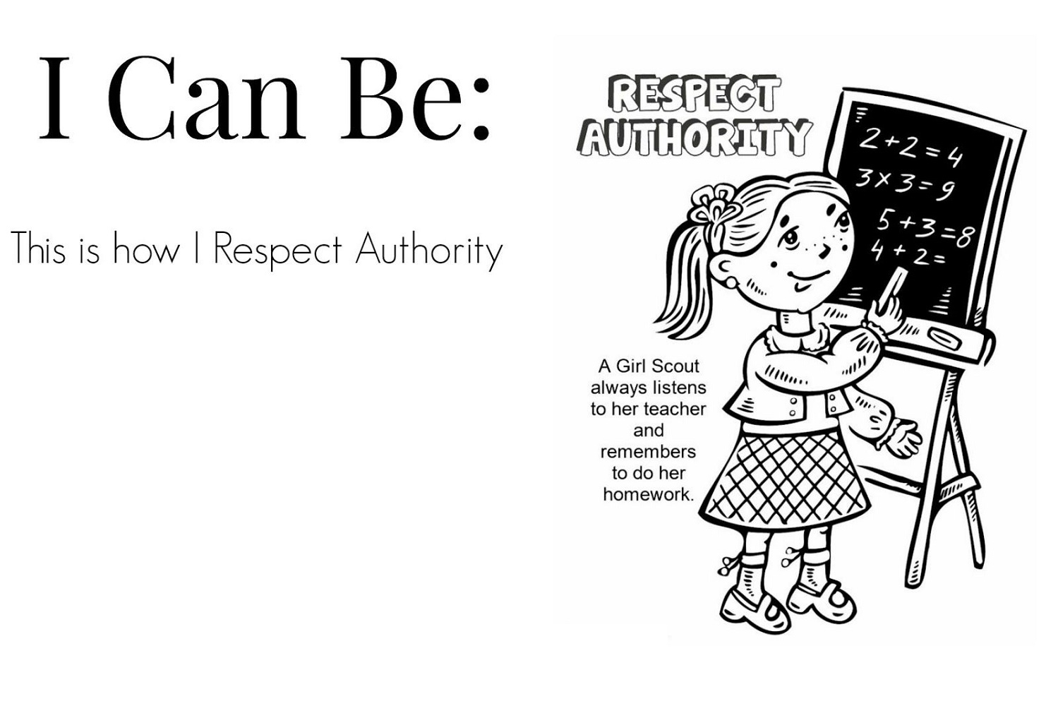 Respect Coloring Pages Authority
