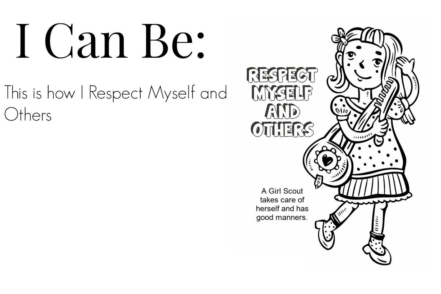 Respect Coloring Pages To Print