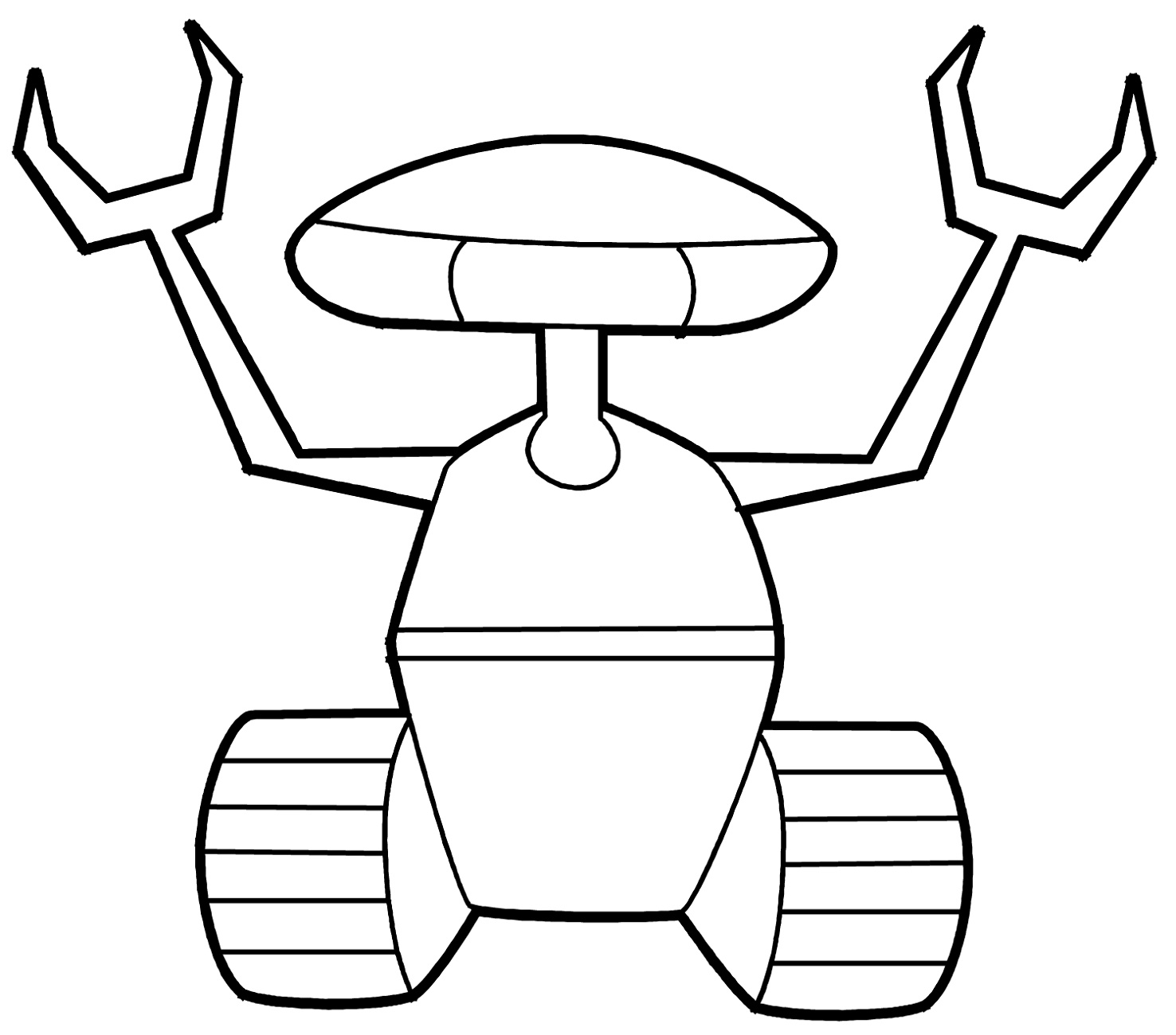 Robot Coloring Pages To Print