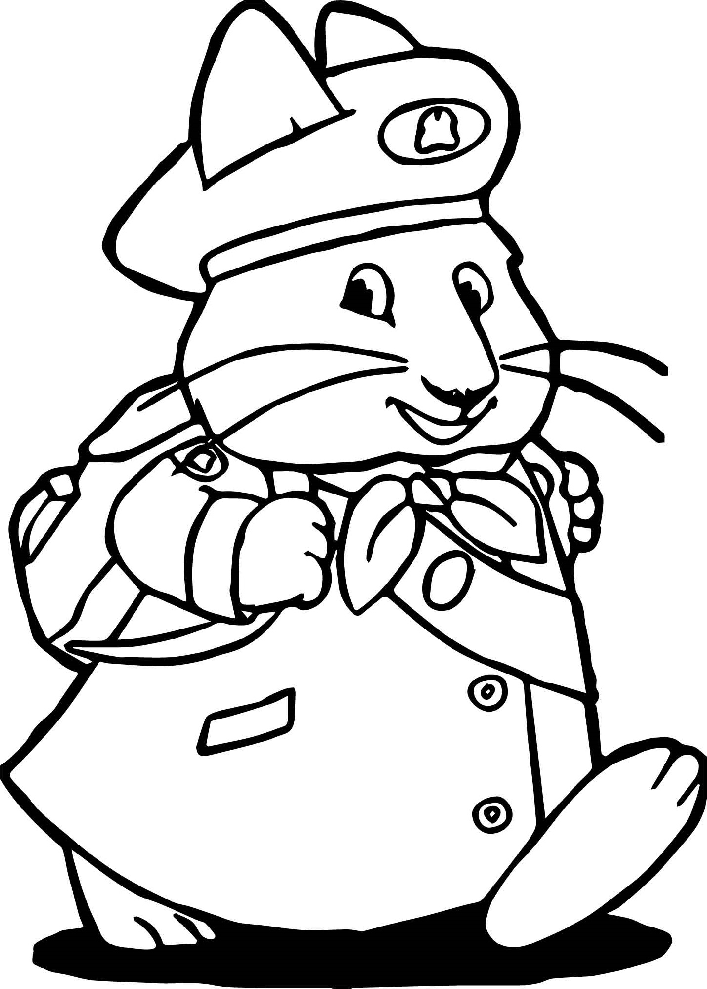 Ruby Bridges Coloring Page Going To School