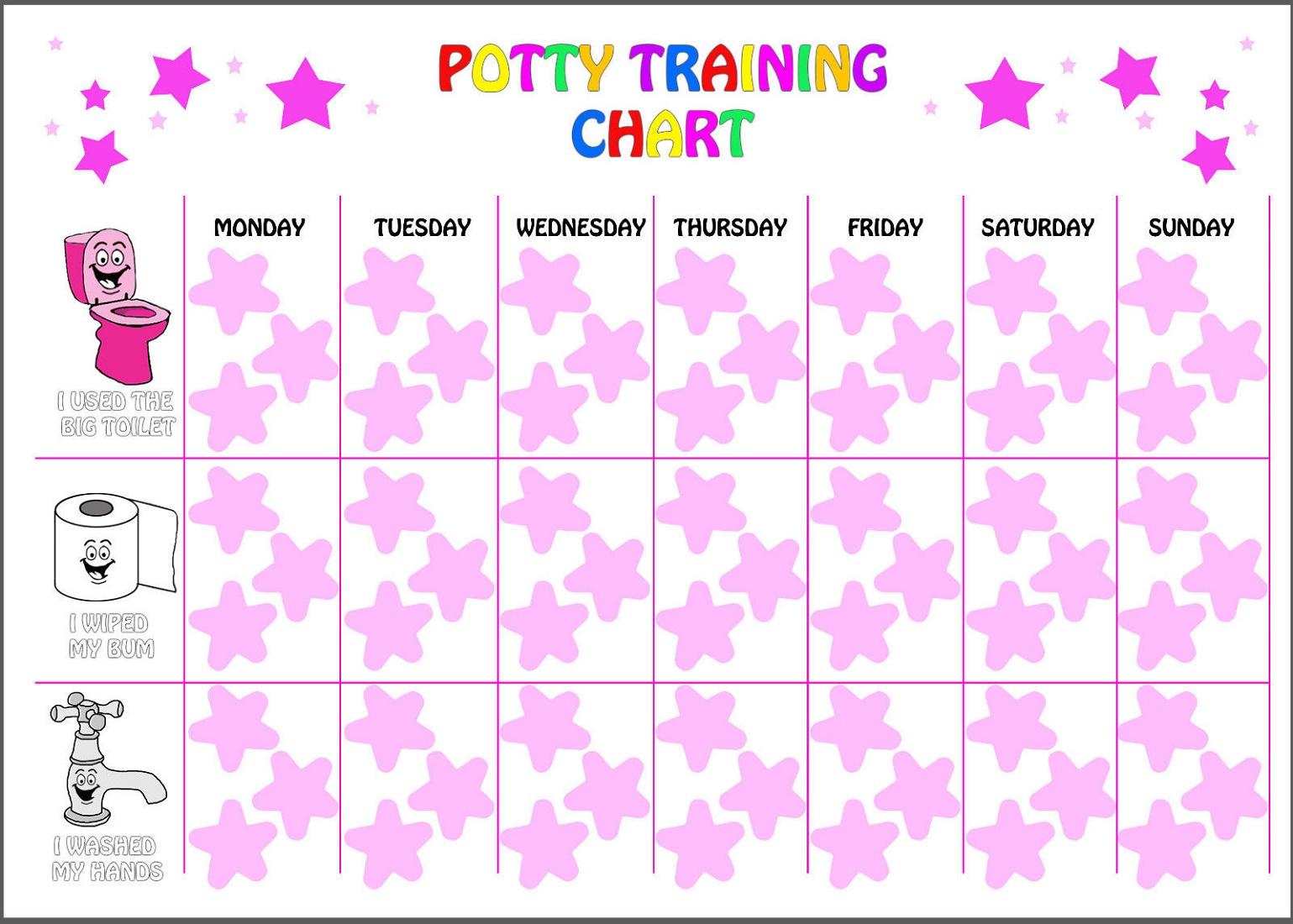 Star Reward Chart Sticker