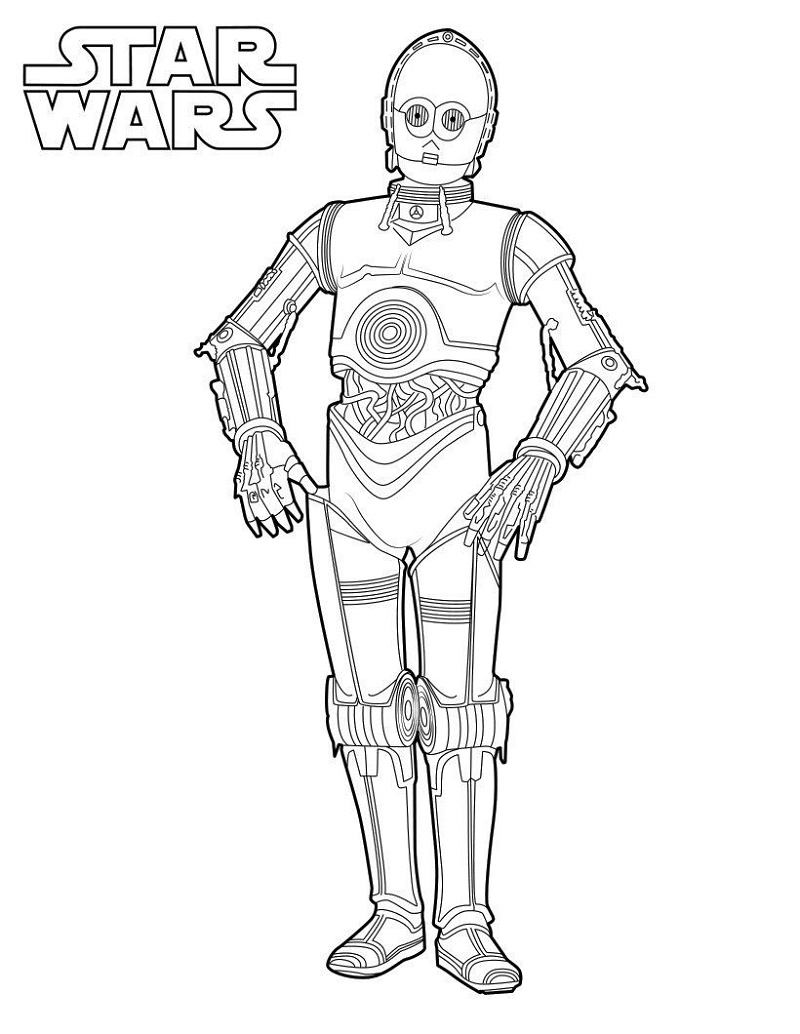 Star Wars Coloring Printable