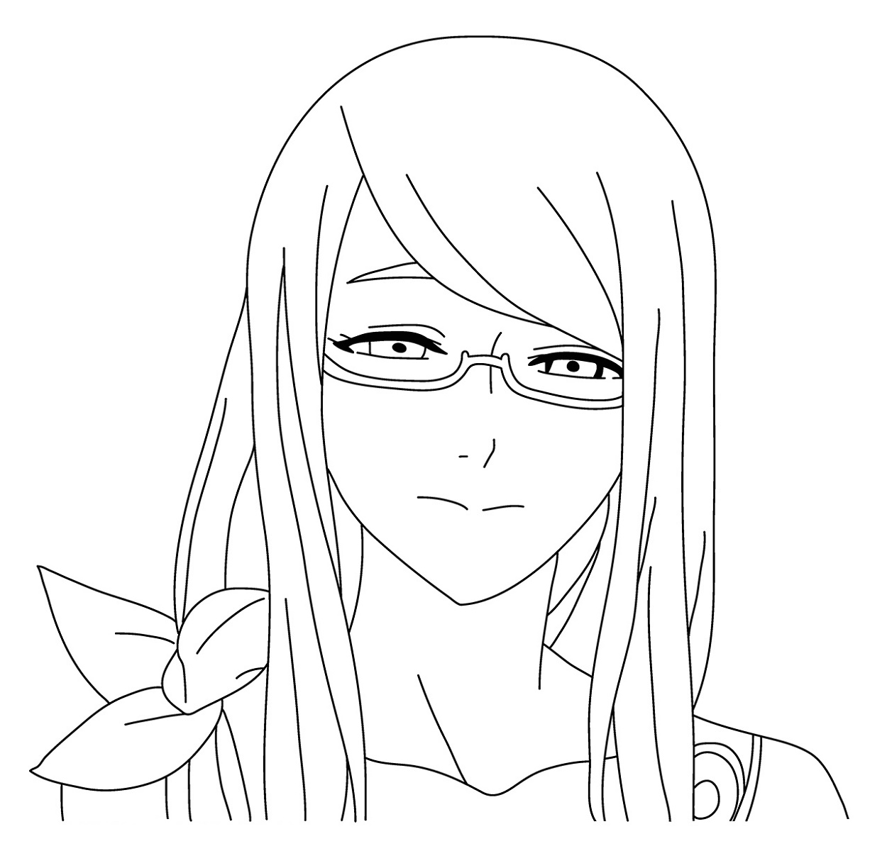 Tokyo Ghoul Coloring Pages Rize