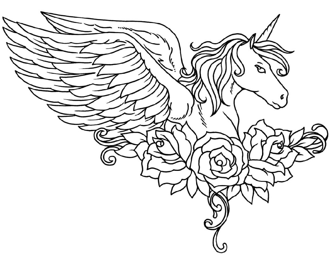 Unicorn Coloring Book Free