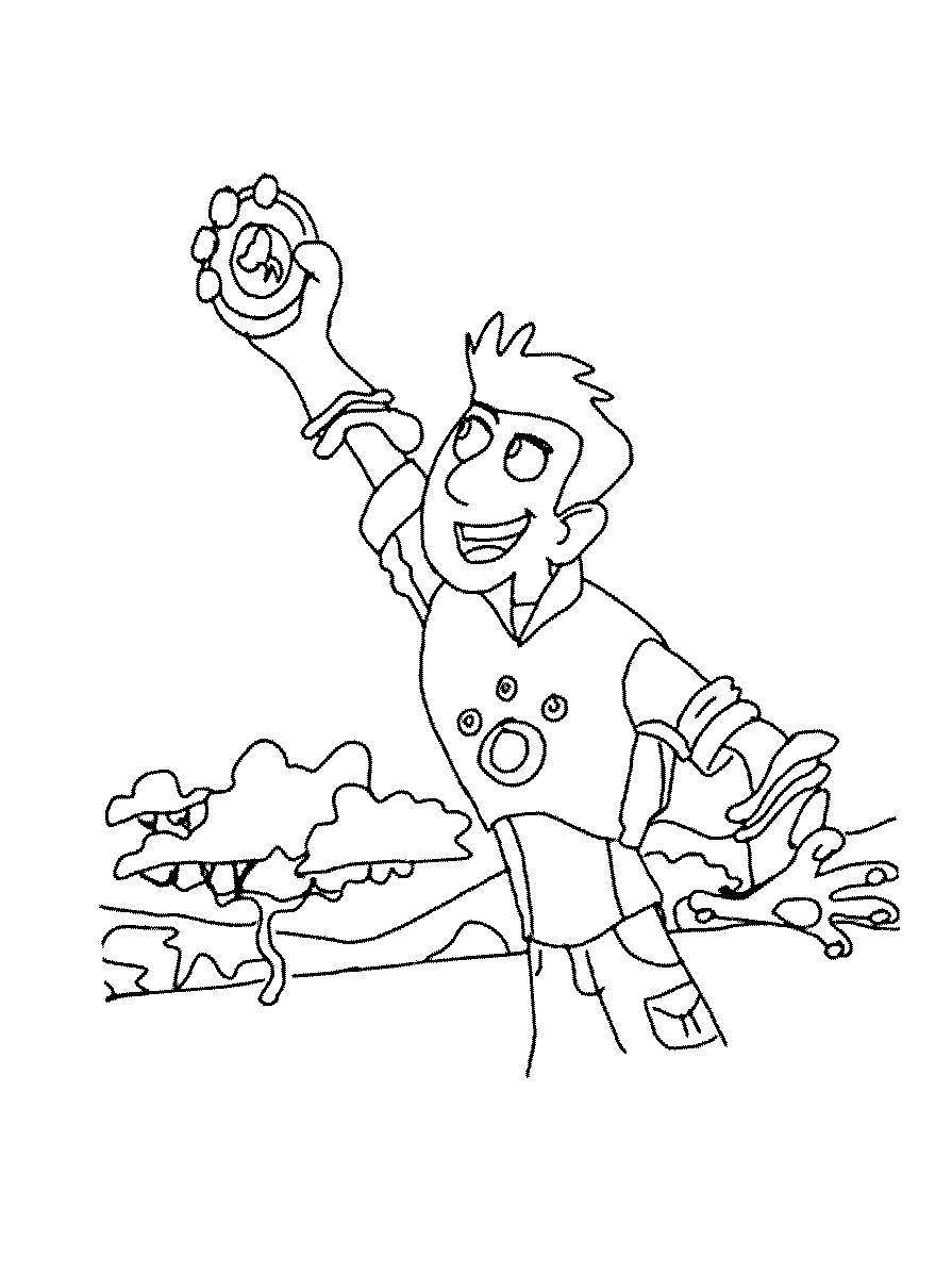 Wild Kratts Coloring Pages Chris Kratt