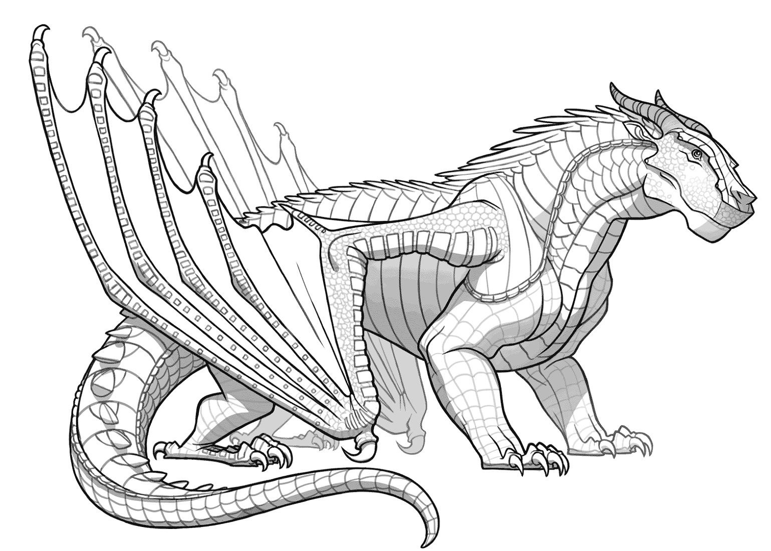 Wings Of Fire Coloring Pages MudWing