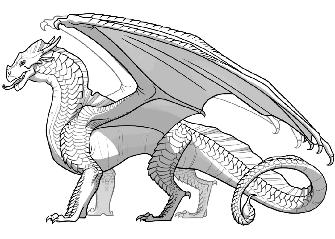 Wings Of Fire Coloring Pages SandWing