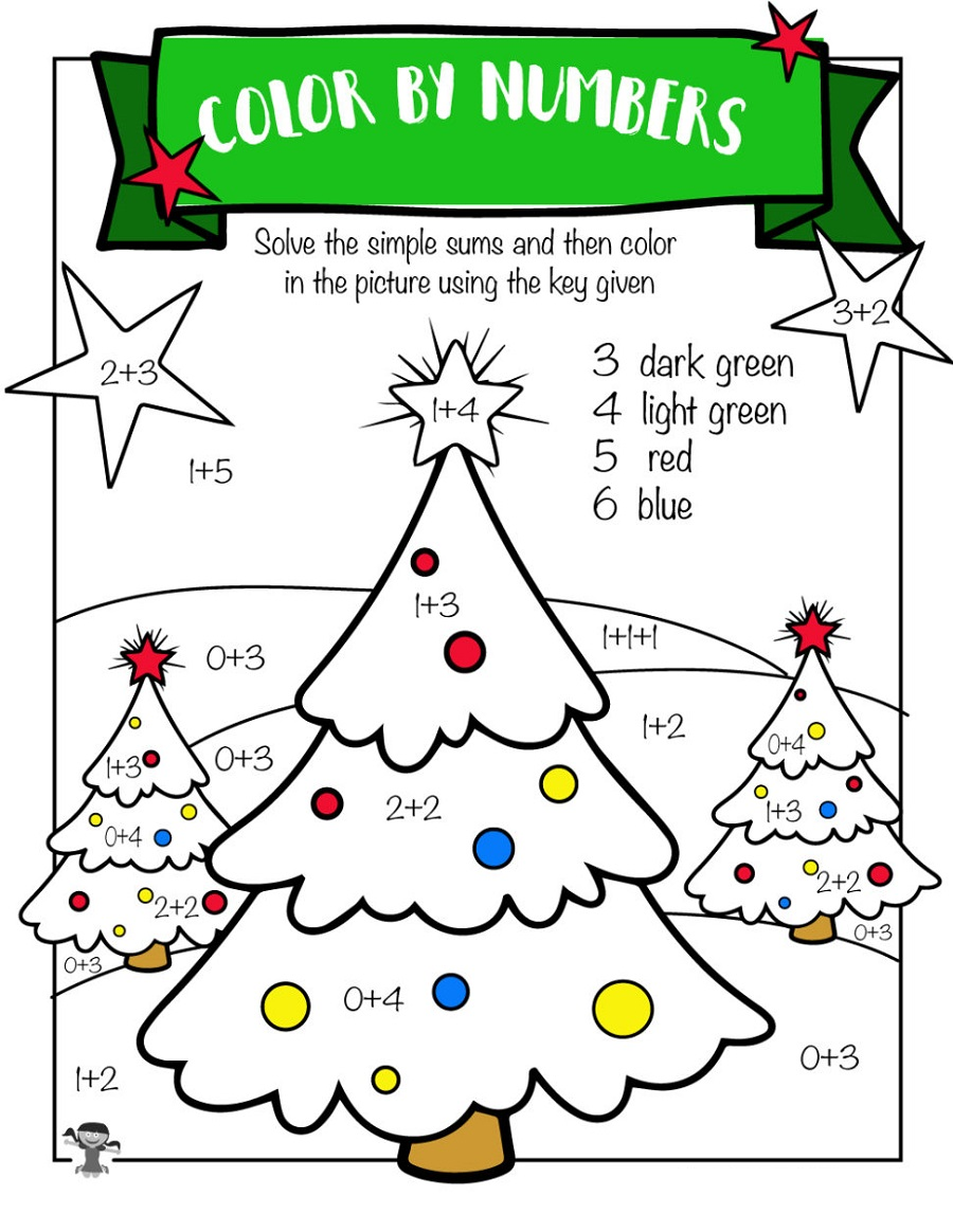 Free Printable Maths Resources Color By Numbers